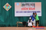 Đoàn trường THPT Hà Huy Tập tổ chức diễn đàn sức khỏe sinh sản vị thành niên.