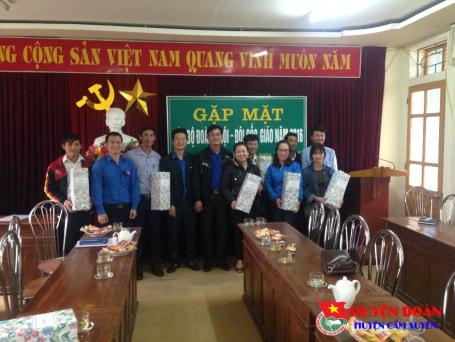 Tổ chức gặp mặt cán bộ Đoàn – Hội – Đội gốc giáo nhân dịp lễ Giáng sinh năm 2016.
